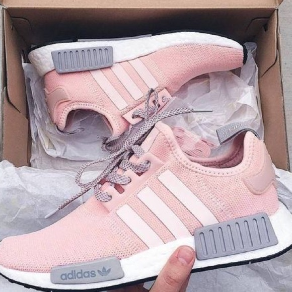 88fe30eb37034 adidas Shoes - Adidas pink and grey r1 nmds